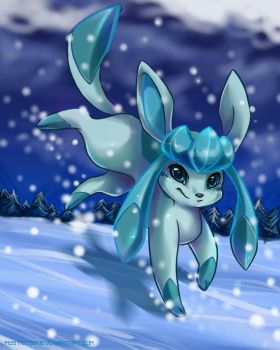 Glaceon by mysticcookie
