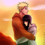 +NaruHina-Sunset+ by 1-N-F-E-C-T-E-D