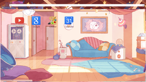 Bee's Bedroom Chrome Theme DOWNLOAD IN DESCRIPTION by Tespeon