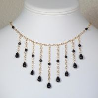 Golden necklace - Custom order by Lincey