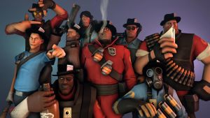 SFM Poster: The Mercs by PatrickJr