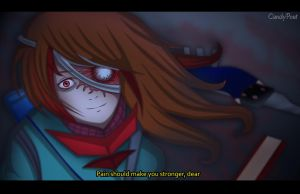 anime screenshot- Anesthesia (fanart) by CandyPout