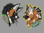 Napalm and Dyego badge by CreatureUndertaker