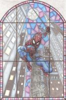 The Amazing Spiderman by chrisjamesart