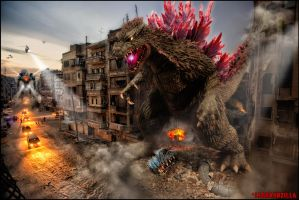 Gypsy Danger VS Godzilla Category 10 Kaiju by Legrandzilla