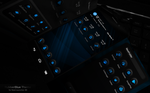 Next Launcher Theme RubberBlue by Karsakoff
