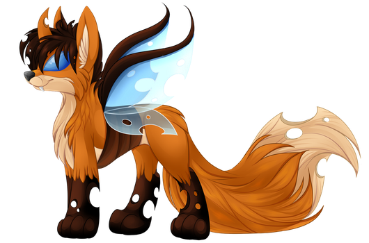 Fox Changeling Shaded by TechTalkPony