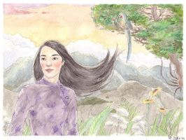 Mountain flowers by Maitia