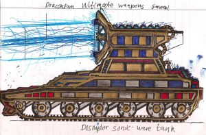 Lord Ryos' Disruptor Sonic Tank by Lord-DracoDraconis