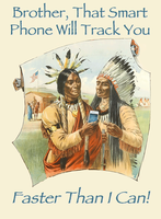 That Smart Phone Will Track You by poasterchild