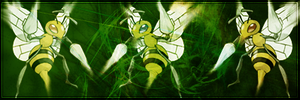 Beedrill In action. by Primeapekingdom