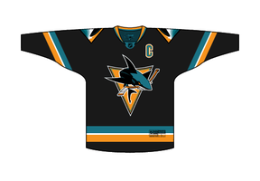 San Jose Sharks Jersey Concept by PD-Black-Dragon