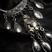 Tribal Steampunk Necklace by Om-Society