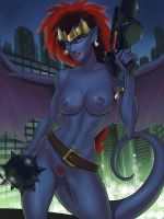 New Style Demona by SunsetRiders7