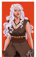 Daenerys by naomi-makes-art73