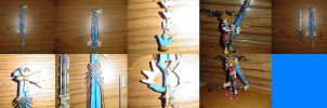 Custom Keyblade-Ultima Weapon by bobrox15