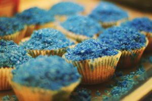 Blue Muffins by vampireweekends