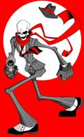 Skullduggery Pleasant by HoT-RoD-Monster