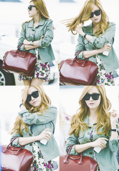 [Edit] Jessica @Airport by yeol-yeol