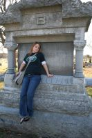 Blonde in the Cemetery - 6 by SafariSyd