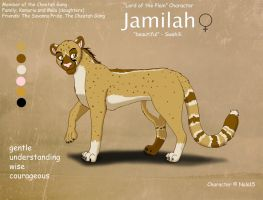 Jamilah Ref Sheet by Nala15