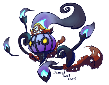 Pirate Chandelure by JinxedTarotCard