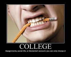 College Demotivator by novaburst16