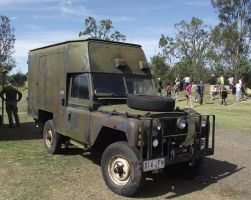 Land Rover on display 2 by RedtailFox