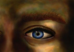 Eye and A Grass Patch Eyebrow by cbens