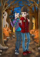 Friends in Strange Places by Dracophile