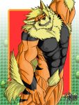 A wild Arcanine Appeared! by DeadAnthro