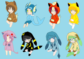 Pokemon Hoodie Adopts 2 [Closed] by ReinFalling