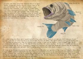 Field Guide: Pg. 35 Feebas by CasteelArt