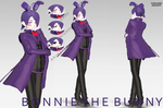 {MMDxFnaf} Bonnie the Bunny [COMPLETE] by Tamachee-Insanity