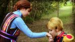 Frozen-Agdar and Idun-Love from the first sight by ignasiak