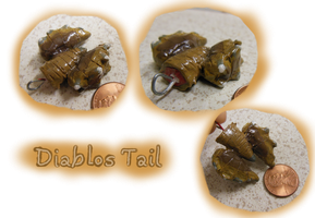 Diablos Tail Charm by CatCowProduce