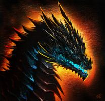 Dragon Icon by Decadia