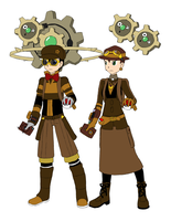 Pokemon Trainer Creator: Steampunk by ConsultingDoctor