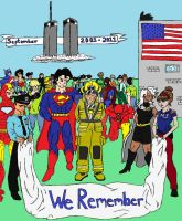 9-11 Tribute Colored by Axel-Knight