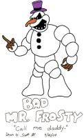 Clayfighter: Bad Mr. Frosty by ScottMcArthur8