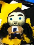 Castiel Plush by WolfishHeart