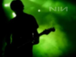 nine inch nails- green smoke by shmeesmind