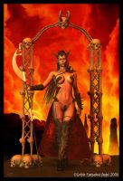 Hell's Guardian by gothicenchantedangel