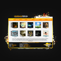 Clubbers HitMix Site - concept by Lukezz