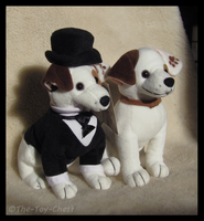 Golden Bear Co. - Wishbone Plush Comparison by The-Toy-Chest