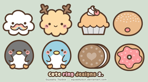 Cute ring designs 2 by SqueakyToybox