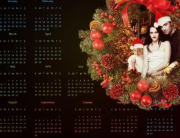 Happy New Year Wallpaper by YlianaKapella-Neidon