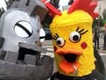Chicken Heads by tacksidermia