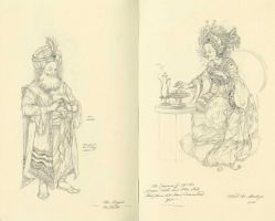 The Tea Taster and the Empress by Himmapaan