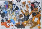 20 Furries by TheKarelia